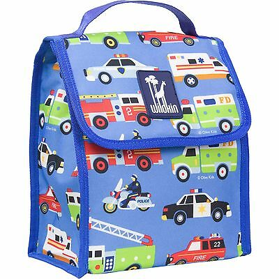 Wildkin Olive Kids Heroes Munch N Lunch Bag New