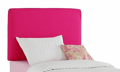 Aaron'S Full Kids Headboard By Skyline Furniture in French Pink Cotton New
