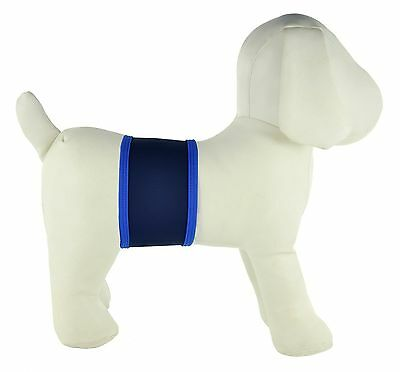 PlayaPup Dog Belly Bands for Incontinence/Training Navy Medium New