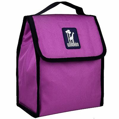Wildkin Radiant Orchid Munch N Lunch Bag New