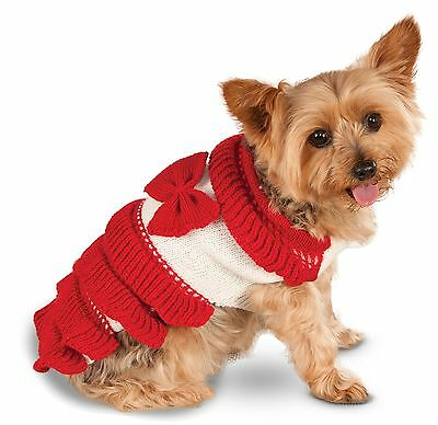 Rubies Costume Co Company 580333_S Holiday Knit Dress for Pet Small New