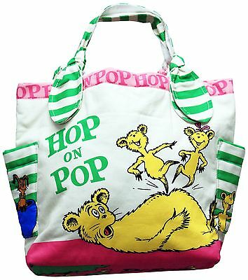 ASD Living Dr. Seuss Tote Bag Small Hop on Pop New