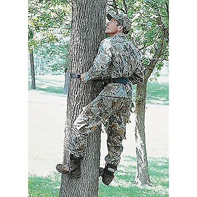 Tree climbers and safety belt lanyard combo New