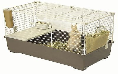 Marchioro Tommy C 102 Cage for Small Animals 39.25-Inch Brown/Beige New