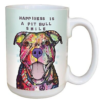 Tree-Free Greetings 46204 Dean Russo PB Smile Ceramic Mug with Full-Sized... New