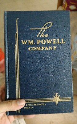 1956 THE WM. POWELL COMPANY  Valve  Plumbing  Catalog/Book - Cincinnati, Ohio