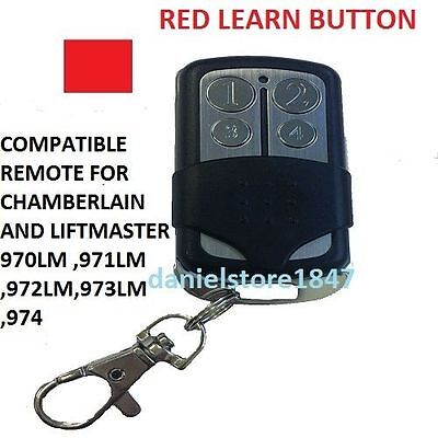 Chamberlain LiftMaster Garage Door Opener Mini Remote Control 41A5021 390MHZ