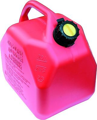 Scepter 20 Liter/5.3 Gallon Fuel Can Red New