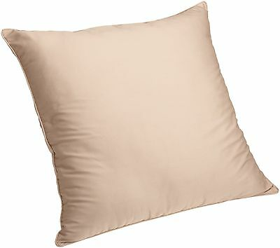 Brentwood Brushed Twill Floor Cushion 25-Inch Khaki New