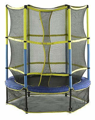 Upper Bounce UBSF01-55 55-Inch Kid-Friendly Trampoline and Enclosure Set ... New