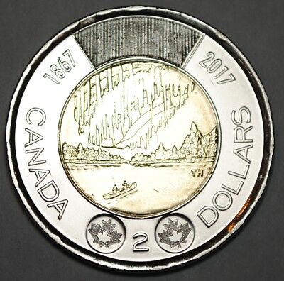 Canada 1867 - 2017 BU 2 Dollar Canadian 150th Anniversary - Dance Of The Spirits