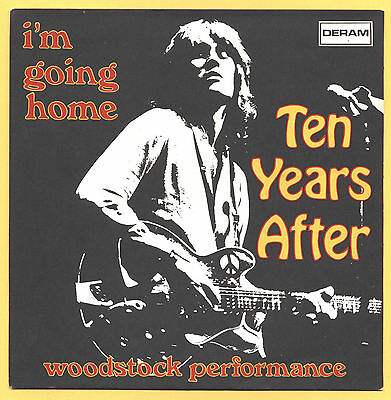 SOLO COPERTINA - COVER ONLY - TEN YEARS AFTER - I'm going home - ITA EX