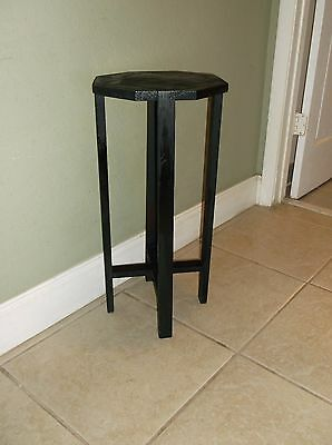 Antique Mission Style Octagonal Side Table