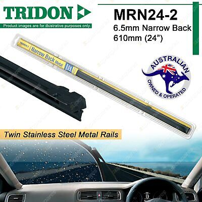 Pair Tridon Metal Rail Wiper Refill For Suzuki Swift 02/05-01/11