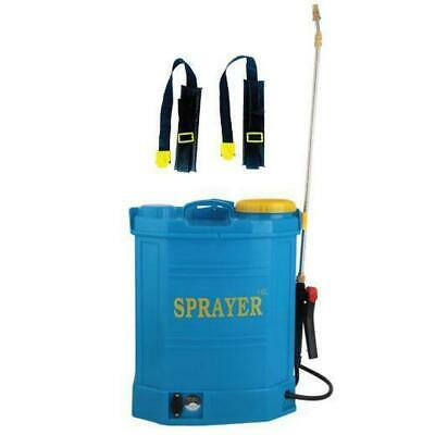 Electric Garden Weed Sprayer Backpack Rechargeable Portable Pump Pressure 16L