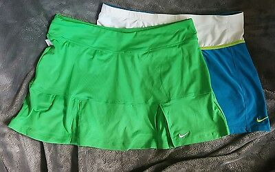 Nike womens tennis  Or running skorts Dri-FIT  2 pair Athletics Lot of 2