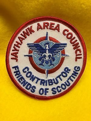 Boy Scouts -  Jayhawk Area Council - Friends of Scouting Contributor patch