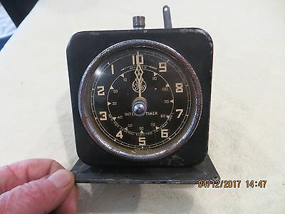 Vintage Working General Electric X-Ray Dark Room Interval Timer