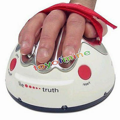 Hot sale Polygraph Shocking Liar Micro Electric Shock Lie Detector Truth Game