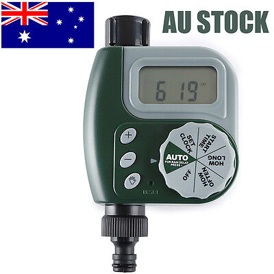 Automatic Electronic Water Tap Watering Timer Garden Irrigation Controller AU