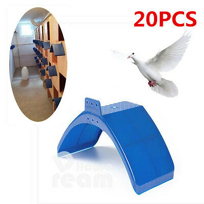20x Pigeon V Plastic Roost Perches Frame Dove Rest Stand Dwelling Bird Supplies