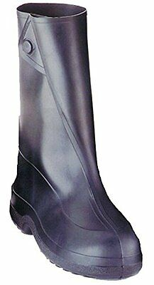 Tingley Rubber 10-Inch 1400 Rubber Overshoe with Button Boot,Black,Medium