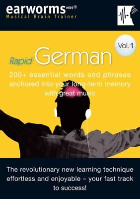 RAPID GERMAN: 200+ essential words and..., earworms Learning Mixed media product