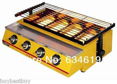 infrared gas stove smokeless barbecue Stoves portable Cooking machine Grills