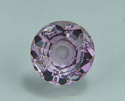 Amethyst. Flat Facet With Carving. 14.50 mm. 9.75 cts. Large Beautiful Stone...