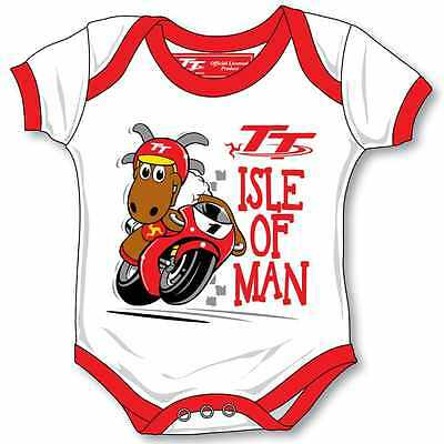 Official Isle of Man TT Baby Grow - 16ZBG