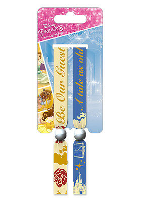 Beauty and the Beast Pack Of 2 Fabric Festival Wristbands BY PYRAMID FWR68096