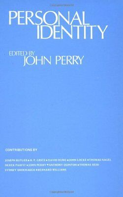 Personal Identity (Topics in Philosophy) by Perry Paperback Book The Cheap Fast