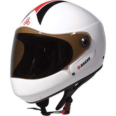 "Triple 8 ""racer"" Longboard Helmet - New, Perfect, Fully Certified!"