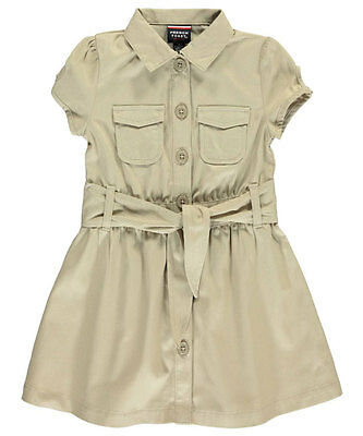 """French Toast Little Girls' """"Safari Classic"""" Belted Dress (Sizes 4 - 6X)"""