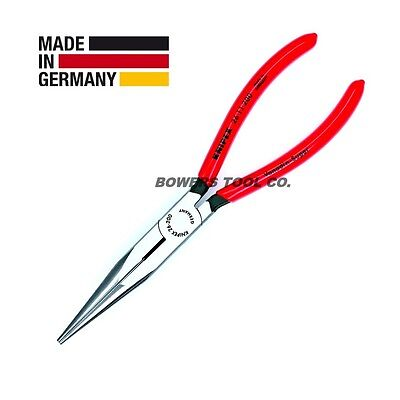 """Knipex 8"""" Long Nose Pliers 2611200 with Side Cutter Chain Nose Plier"""