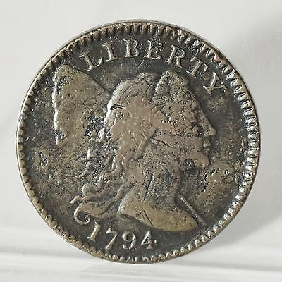 1794 Large Cent - Head of 1795 - Fine (#5658)