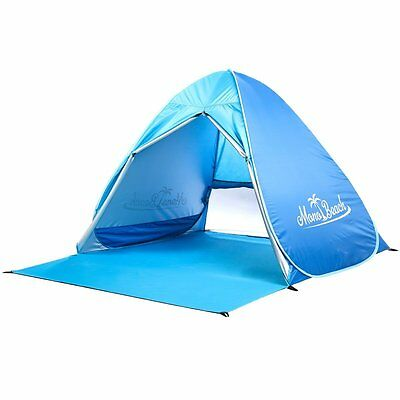 Baby Beach Tent Sun Shelter for Kids UV Protection Automatic Pop Up Cabana NEW