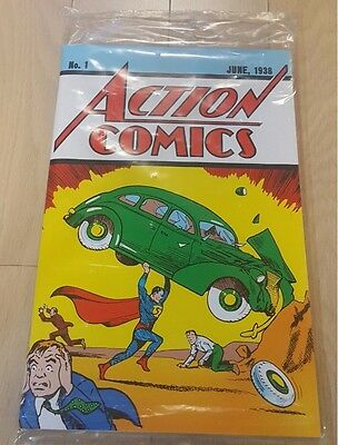 Action Comics #1 Reprint Loot Crate Superman 1 1st Appearance with + Certificate
