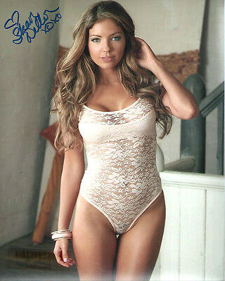 2013 Playboy Playmate SHAWN DILLON signed photo!