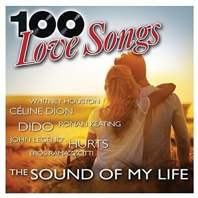 Various Artists - 100 Love Songs: Sound Of My Life / Various [New CD] Boxed Set,