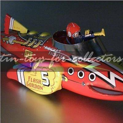 Flash Gordon Sparkling Rocket Fighter Ship- Remake Marx Usa/japan