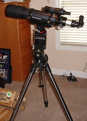 Orion 80 Mm Refractor Telescope With Orion Sirius Eq-G Equatorical Mount