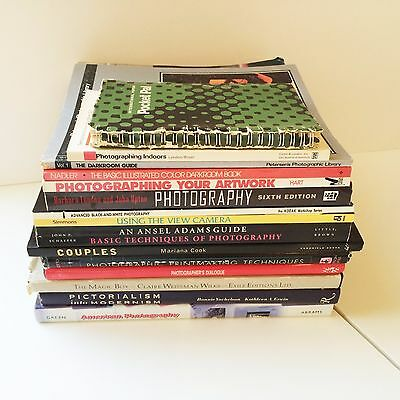 Photography 15 Book Lot Inspiration, Black & White, Color, Printing, Camera