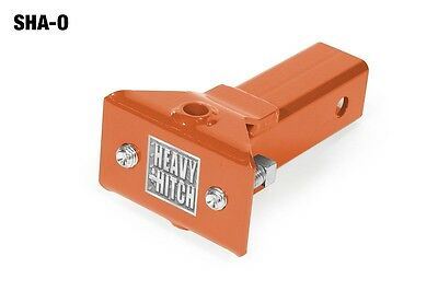 Kubota Orange Sleeve Hitch Adapter for Lawn & Garden Tractors