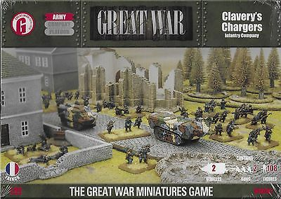 Flames of War Great War Clavery's Chargers  15mm WWI New!