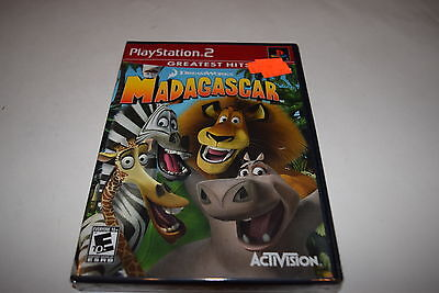 Madagascar Sony Playstation 2 PS2 Video Game New Sealed
