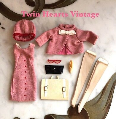 Vintage 60s Tammy Doll Outfit Career Girl