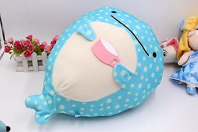 San-X Jinbesan Super Mochi mochi Plush Doll Whale with Cup 50CM Large Cushion