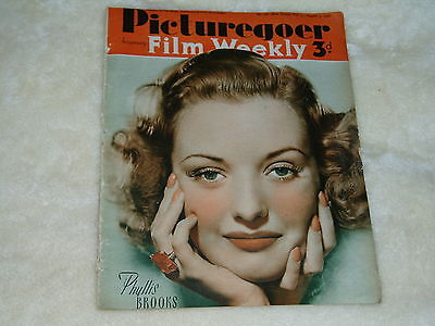 """Vintage"" PICTUREGOER & FILM WEEKLY..(3rd AUG.1940)..PHYLLIS BROOKS cover"