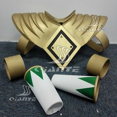ZYURANGER Power Green Ranger Dragon Shield with Two Bands Cosplay Prop